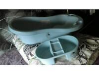 Baby bath/bath seat/top&tail