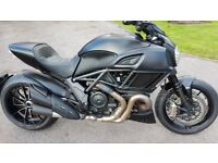 Ducati Diavel Dark 2017 - Only 350 miles - As New Condition