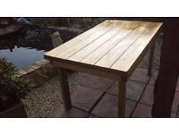 Hand made Garden Table.