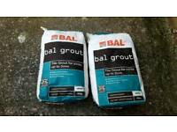 White Tile Grout 10kg x 2 bags