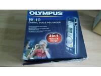 Olympus W-10 Digital Voice Recorder