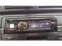 Alpine CDE-173BT Car Stereo/Bluetooth/ Front AUX-Input/USB/Hands-free calling