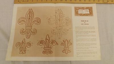 Fleur De Lis Serie (Vtg Craftaid Doodle Page Fleur De Lis Series9-B/4 by Jerry Jennings)