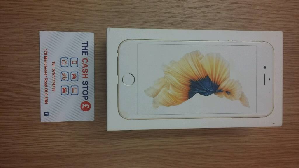 *OFFERS*Free delivery* IPHONE 6S Rose Gold 16GB Brand New*