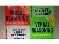 Free verbal and non-verbal reasoning books for 11+