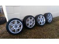 *** Mercedes AMG Alloy Wheels & Tyres ***