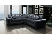 50% REDUCTION** SYMPHONY CHENILLE SOFA RANGE: 3+2 SETS, CORNER SOFAS * FREE UK WIDE DELIVERY**