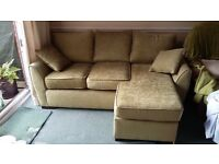 Sofa chaise set