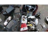 Genuine 1999-2005 seat leon FR joblot parts headlights steering wheel fr clocks cd intercooler pumps