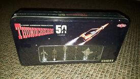 THUNDERBIRDS CLASSIC 50TH YEAR ANNIVERSARY CHESS SET EXCLUSIVE COLLECTIBLE GAME