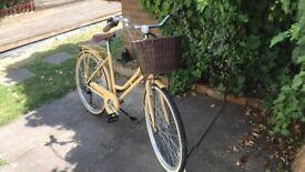 """Reflex Mystique Ladies Heritage Traditional Bike, 18"""" Frame - 26"""" Wheel, 6 Speed"""