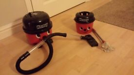 Toy Henry Hoover with Mop & Bucket