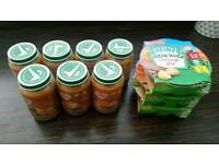Baby food for sale