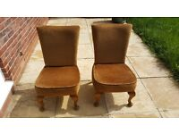 Two lovely Bedroom chairs