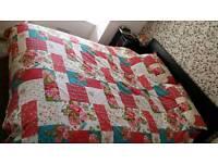 King-size duvet cover & 4 pillow cases