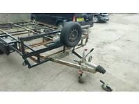 16 ft x 7 ft car transporter/trailer