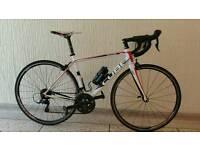 Cube peleton road bike