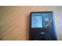 Ipod classic 80gb - for sale, faulty sound/headphone socket, otherwise in good working order