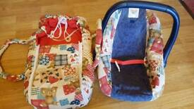 DOLL CAR SEAT AND CARRIER