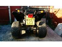 Road registered quad