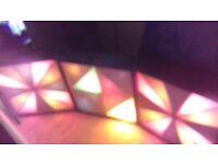 Three Disco light screen boxes.