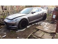 Mazda RX8 breaking all part