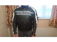 Matorcycle leather jacket