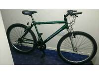 Excellent condition green raleigh max mountain bike
