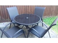 4 seater garden furniture set