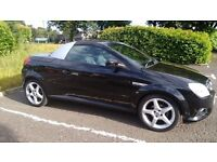 vauxhall tigra 1364 cc black 08 plate 1795 or swap for motorhome