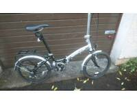 APOLLO TRANSITION FOLDING ALUMINIUM ROAD BIKE, 10 GEARS, FTS ANY SIZE ADULT, NEW CONDITION