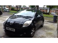 PRICED TO SELL!!!2008 TOYOTA YARIS £30 ROAD TAX, VERY RELIABLE, DRIVES SMOOTHLY.