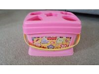 Fisher Price First Shape Sorter