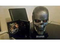 Terminator Salvation Blu ray with Limited edition T600 Skull