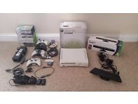XBox 360 60GB + Kinect + Selection of games