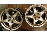Set on 4 lovely quality tsw alloys