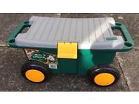 ZAG garden tool cart on wheels