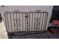 Pair of Wrought Iron/Steel Gates