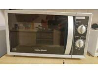 Morphy Richards 800W Standard Microwave MM82 (Used) - Silver