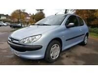 2003 Peugeot 206 1.4i Look - 6 Months MOT - Good Condition