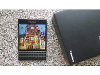 Blackberry passport with 2gb card