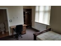 Large double rooms availble to DSS , JSA, ESA, PIP tenants who need extra support