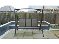 Ex Dobbies 3 seater Swing Chair