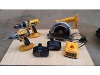 Dewalt cordless power tools