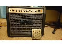 Engl Screamer 50 Combo & Z4 footswitch - Valve guitar amp