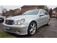 05 Reg Facelift Mercedes Benz C200 Avantgarde, Diesel, Automatic Gearbox, Mot...