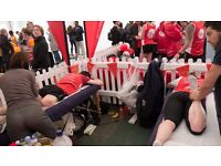 Volunteer massage therapists required for the Royal Parks Half Marathon