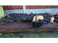 Mcculloch california petrol chainsaw for sale