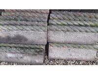 Rope top edging for sale
