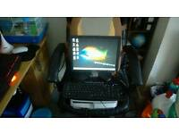Compaq PC with monitor and extras